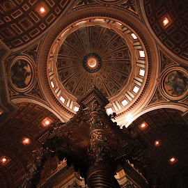L'eglise by Mohamed Am - Buildings & Architecture Statues & Monuments ( amzil, ltaly, cathedrale, rome, eglise, art, architecture )