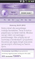 Screenshot of Horoskop WP.PL