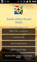 Screenshot of South Africa Travel