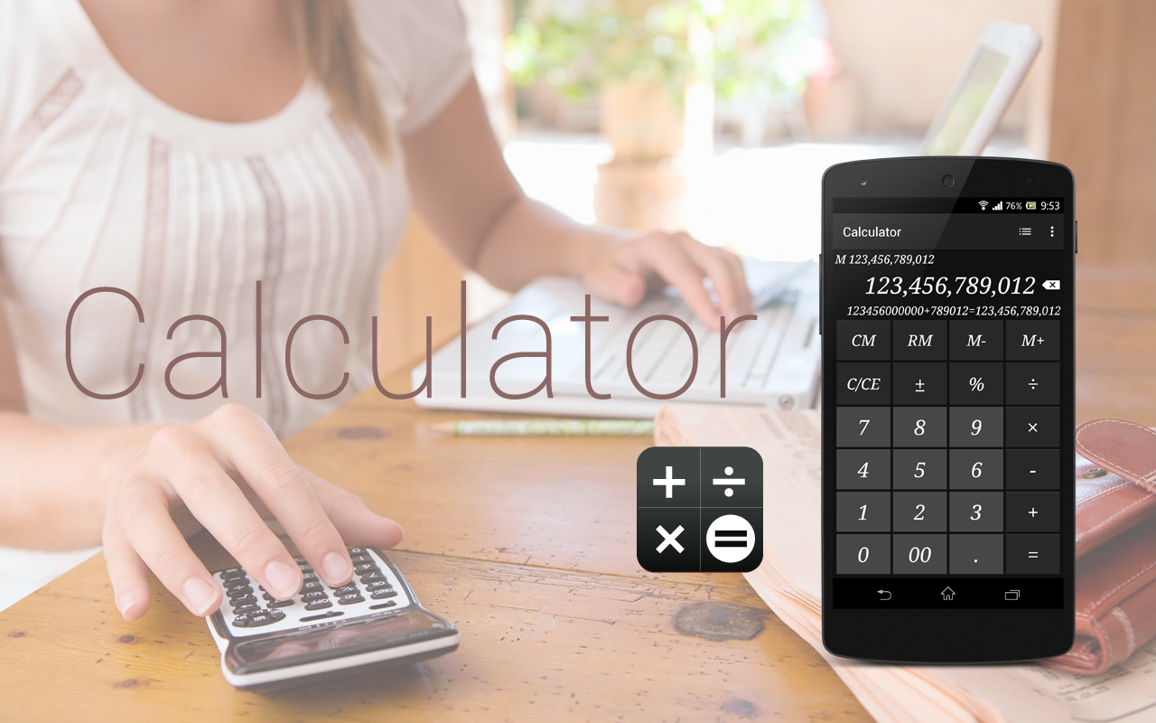 Calculator - Simple & Stylish Screenshot 9