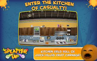 Screenshot of Annoying Orange: Splatter Up!