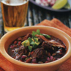 Spicy Red Pork and Bean Chili