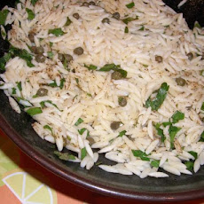 Lemon Caper Orzo