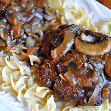 Hamburger Steak with Onions and Gravy