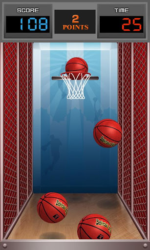 basketball-shot for android screenshot