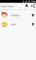 Screenshot of FaceCreator