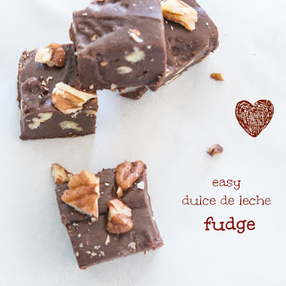 Easy Caramel Mocha Fudge