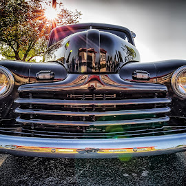 Grill Shot by Ron Meyers - Transportation Automobiles