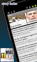Screenshot of WHAS11 Louisville News