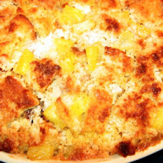 Pineapple Bread Casserole