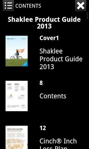 Shaklee Product Catalog