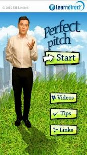 Perfect pitch - screenshot