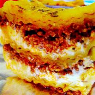 Lasagna Casserole With Cream Cheese Recipes