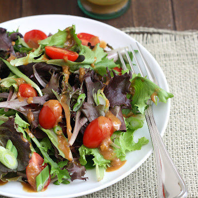 Mixed Greens Salad with Hoisin Vinaigrette