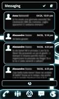 Screenshot of LauncherPro Glow Legacy Skin
