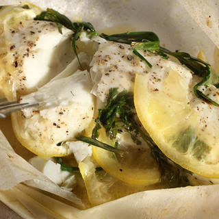 Basic Fish Baked in Parchment