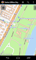 Screenshot of Turin Offline City Map