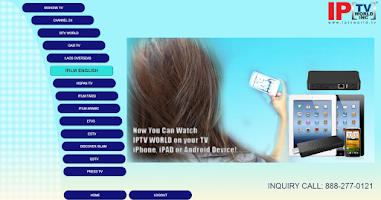Screenshot of IPTVWorld
