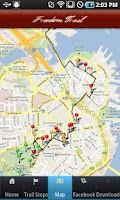 Screenshot of Tour Boston's Freedom Trail