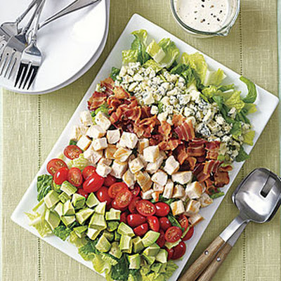 Quick Cobb Salad with Yogurt Dressing