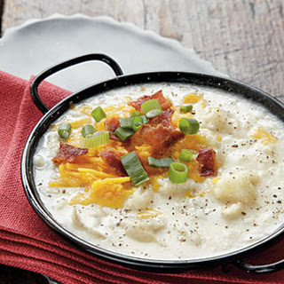 Baked Potato and Bacon Soup