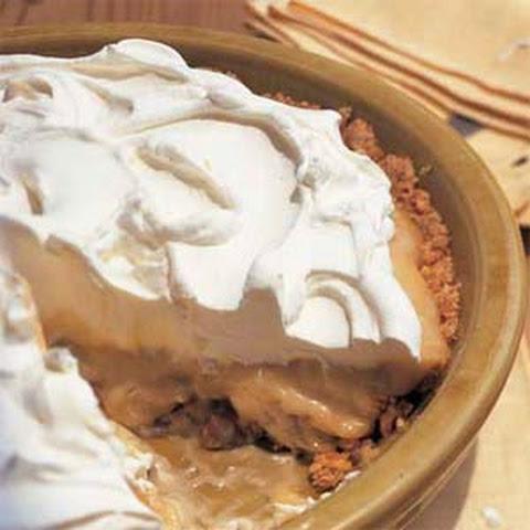 Frozen Peanut Butter-Banana Cream Pie Recept | Yummly