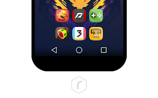 Screenshot of Refocus - Icon Pack