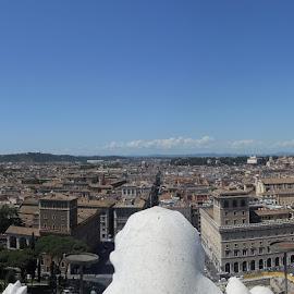View from Vittorio Emmanuele by Helen Roberts - City,  Street & Park  Vistas (  )