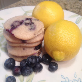 Blueberry Lemon Cookies by Tomi Agostini - Food & Drink Cooking & Baking