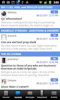 Screenshot of Steroid.com - Online Community