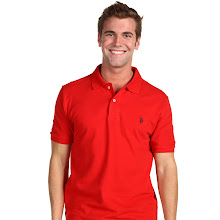 U.S. Polo Assn - Pony Solid Pique (Red) - Apparel