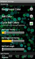 Screenshot of BallPaper