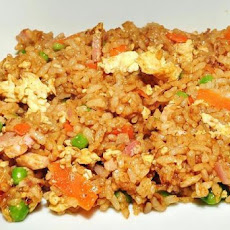 Fu Manchu fried rice