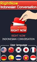 Screenshot of RightNow Indonesian Convo.