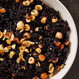 Black Rice with Hazelnuts