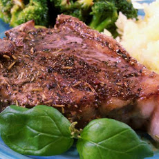 Italian Herb-Rubbed Lamb Chops