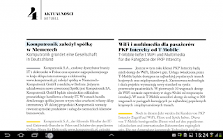 Screenshot of Wiadomości Gospodarcze