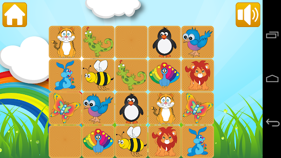 Memory Pairs for Kids - screenshot