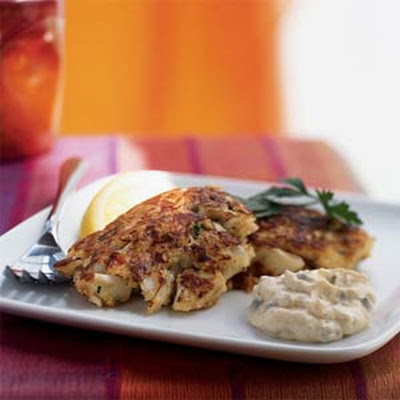 Louisiana Crab Cakes with Creole Tartar Sauce