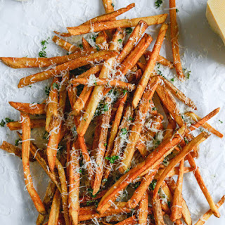 Herb Salted Garlic Parmesan French Fries