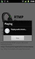 Screenshot of RTMP Streamer