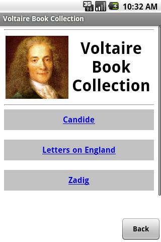 Voltaire Book Collection