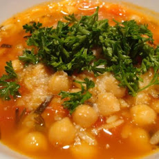 Chickpea and Orzo Soup