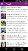 Screenshot of Skellefteå Kraft