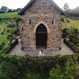 in the air by Jorge Asad - Wedding Other ( drone, church, gopro, wedding, landscape )