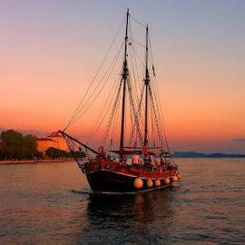 by Irena Trkulja - Transportation Boats