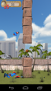 Flappy Parrot - screenshot