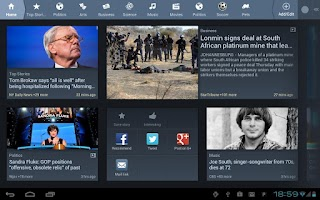 Screenshot of News360 (Old)
