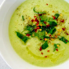 Apple Avocado Soup ~ Raw Vegan