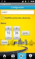 Screenshot of Pico y placa Bogotá